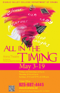 all-in-the-timing-poster