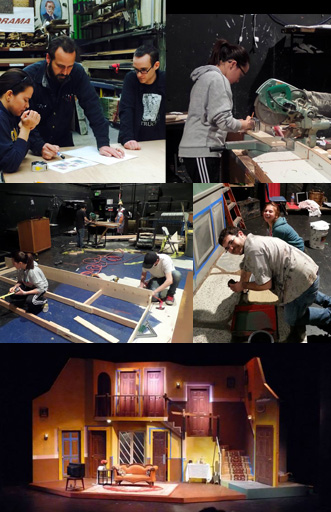 Educational Program - Scene and Prop Design & Construction